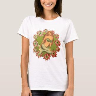 Poinsettia Mermaid T-Shirt