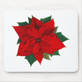 Poinsettia.png Mouse Pad