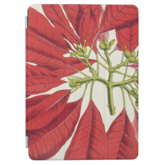 Poinsettia Pulcherrima (colour litho) iPad Air Cover