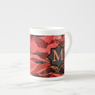 Poinsettia Tea Cup