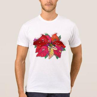 'Poinsettia' Tee Shirts