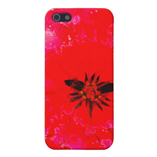 POINSETTIA WASH 4  COVER FOR iPhone 5/5S