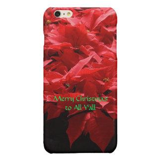 Poinsettias iPhone 6 case iPhone 6 Plus Case