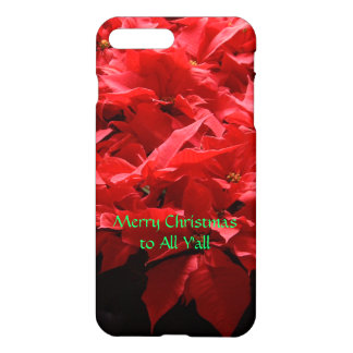 Poinsettias iPhone 7 case