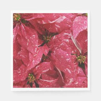 Poinsettias Paper Napkins