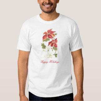 Poinsettias Tee Shirt