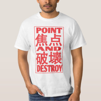 point&destroy T-Shirt