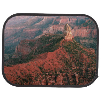 Point Imperial and Mount Hayden at Sunset Car Mat
