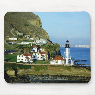 Point Loma Lighthouse Mouse Mat