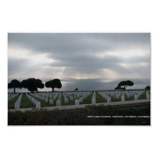 Point Loma National Cemetery Poster