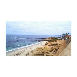 Point loma ocean view canvas print