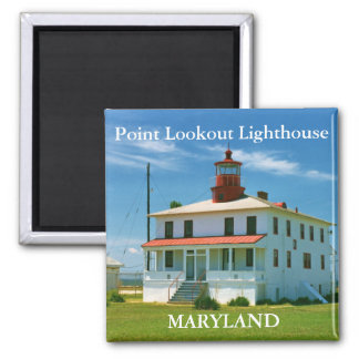 Point Lookout Lighthouse, Maryland Magnet