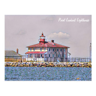 Point Lookout Lighthouse Postcard