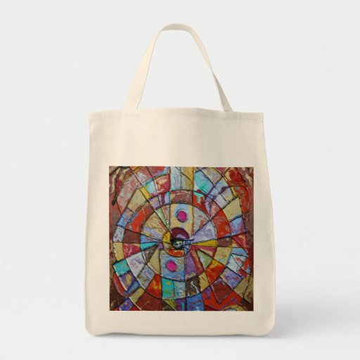 Point of Beginning Grocery Tote Bag