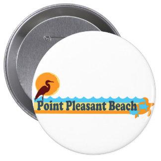 Point Pleasant Beach. 10 Cm Round Badge