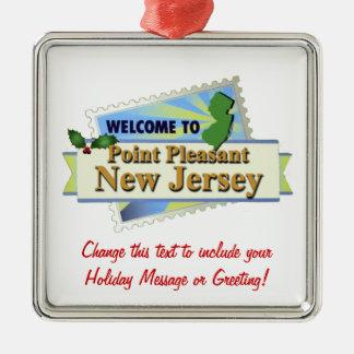 Point Pleasant NJ Christmas Ornament