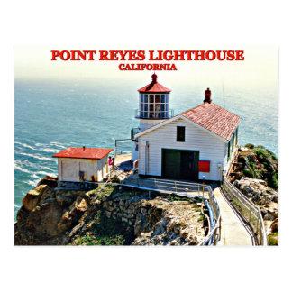 Point Reyes Lighthouse, California Postcard