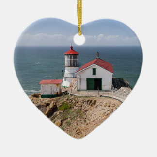 Point Reyes Lighthouse, Marin County, California Christmas Ornament