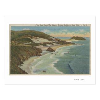 Point Sur, Carmel San Simeon Section, Hwy 1 View Postcard