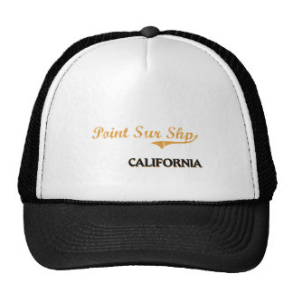 Point Sur Shp California Classic Mesh Hats