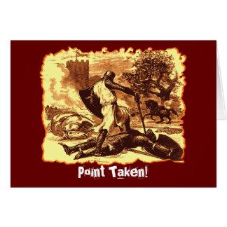 Point Taken! Card