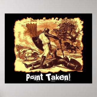 Point Taken! Poster