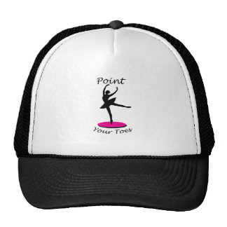 Point your Toes Trucker Hat