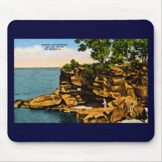 Pointe Aux Barques of the Thumb of Michigan Mouse Mat