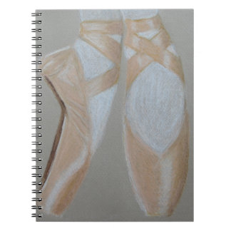 Pointe Ballet Feet Notebook