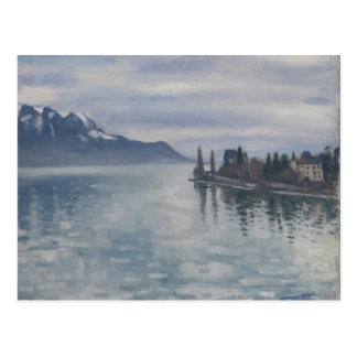 Pointe de Territet, Montreaux by Albert Marquet Postcard