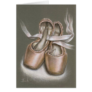 Pointe shoes cards