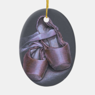 Pointe shoes christmas ornament