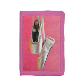 Pointe Shoes in Pink — Wallet