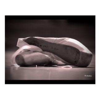 Pointe Shoes Postcard
