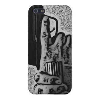 Pointed Gun I iPhone 5 Cases