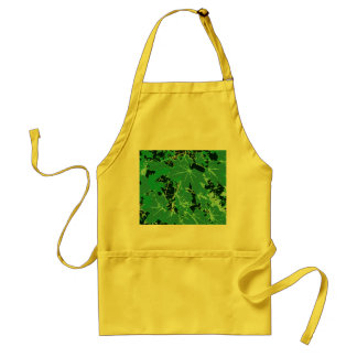 Pointed maple of sheets apron