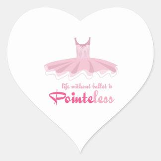 Pointeless Heart Sticker