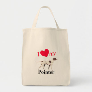Pointer Tote Bags