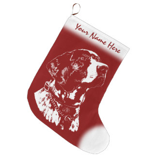 Pointer Dog Christmas Stocking Dog Lover Stockings
