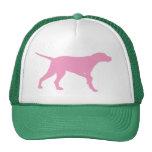 Pointer Dog (in pink) Hat