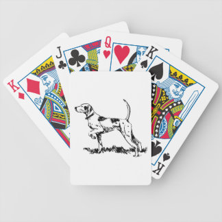 Pointer Dog Playing Cards