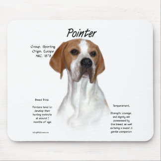Pointer History Design Mouse Pads