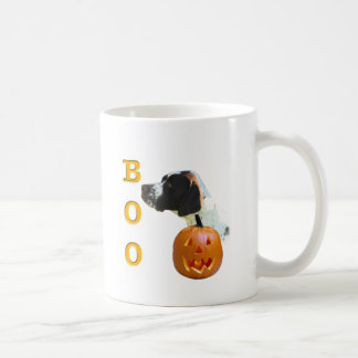 Pointer (Liver Coated) Boo Coffee Mug