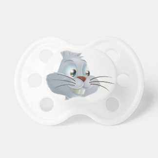 Pointing White Rabbit Pacifier