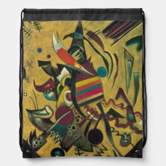 Points by Wassily Kandinsky Drawstring Bag