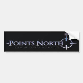 Points North Logo Bumper Sticker