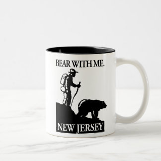 Points North Studio 'Bear With Me' New Jersey Two-Tone Mug