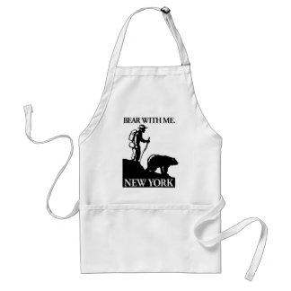 Points North Studio 'Bear With Me' New York Standard Apron