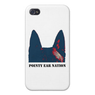 Pointy Ear Nation Case For iPhone 4