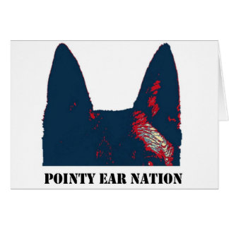 Pointy Ear Nation Greeting Card